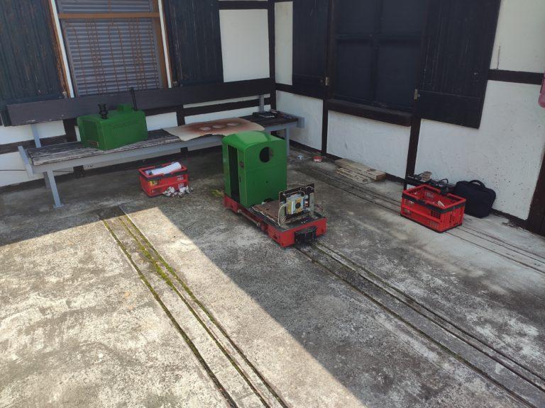 Revision der Lokomotive