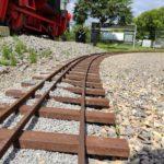 Arbeitseinsatz: Gleisausbesserung
